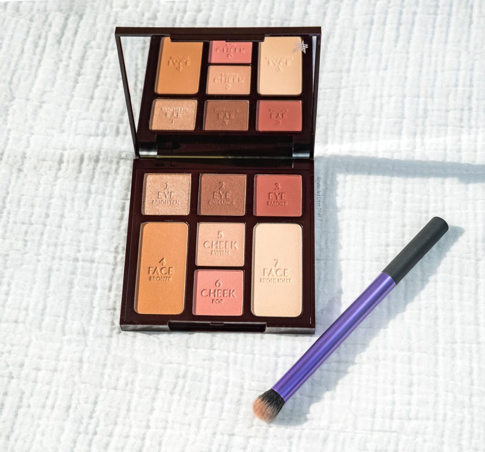 Charlotte Tilbury Instant Look In A Palette Gorgeous Glowing Beauty Review