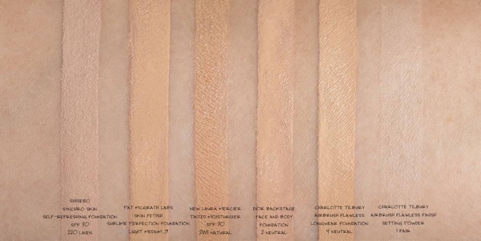 Shiseido Synchro Skin Self-Refreshing Foundation SPF 30 in 220 Linen