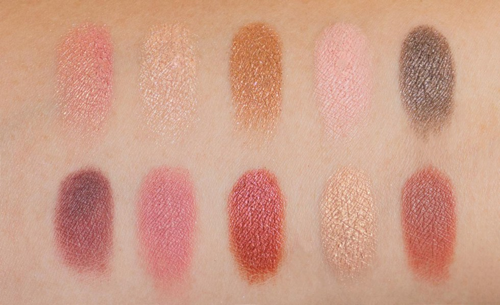 nyx love lust disco rose and play swatch