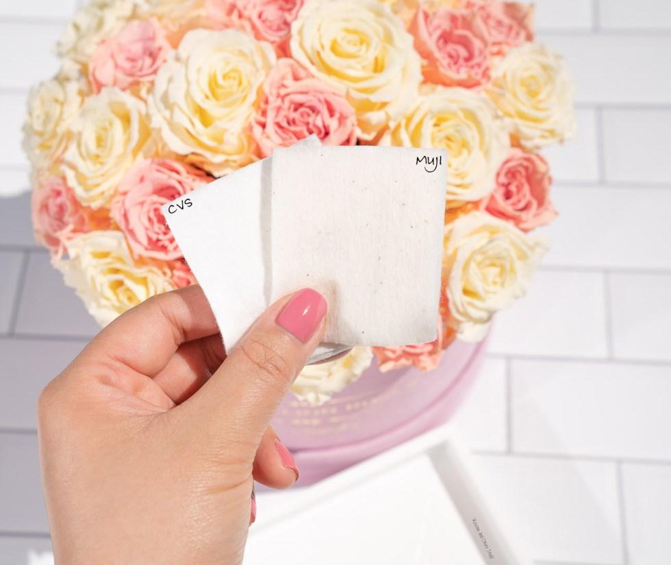 Muji Soft Cut Cotton Unbleached, cvs beauty 360 extra thick cotton squares