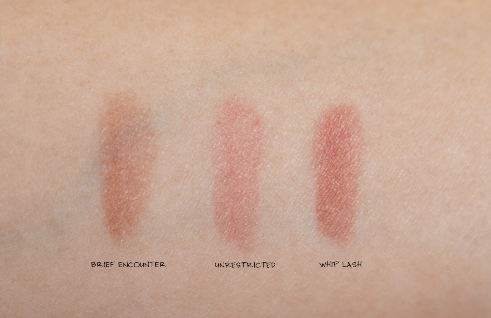 nars soft matte tinted lip balm unrestricted swatch