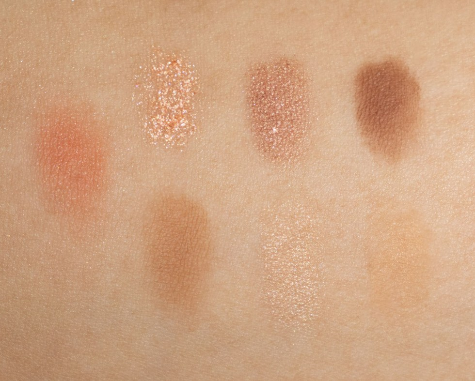 charlotte tilbury look of love instant look in a palette pretty blushed swatch