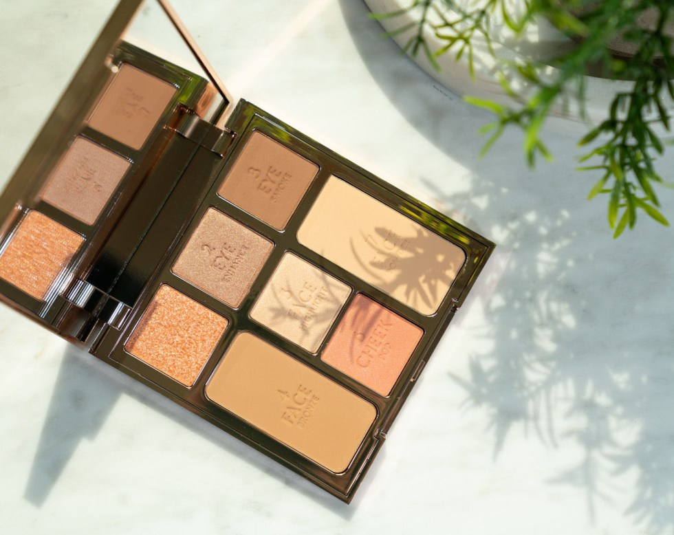 charlotte tilbury look of love instant look in a palette pretty blushed