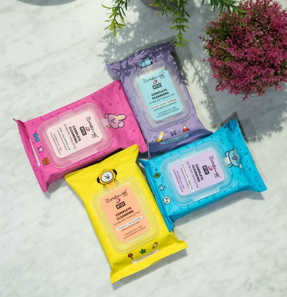 bt21 complete cleansing towelettes review