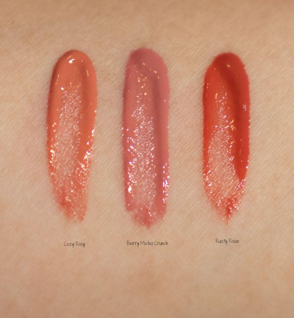 the creme shop bt21 Lip Tints swatches review