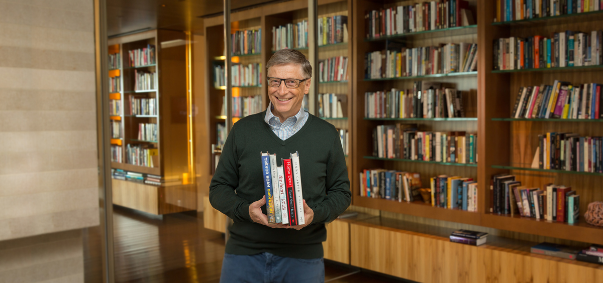 LIBRARY: Bill Gates 5 Good Summer reads