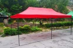 american phoenix canopy tent foot red party tent gazebo canopy commercial fair shelter car shelter wedding party easy pop up u2013 red - 10x20 Pop Up Canopy