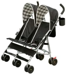 Delta Children City Street Side by Side Stroller
