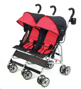 Kolcraft Cloud Side by Side Umbrella Stroller