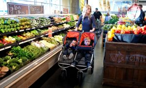 best double stroller organic mall