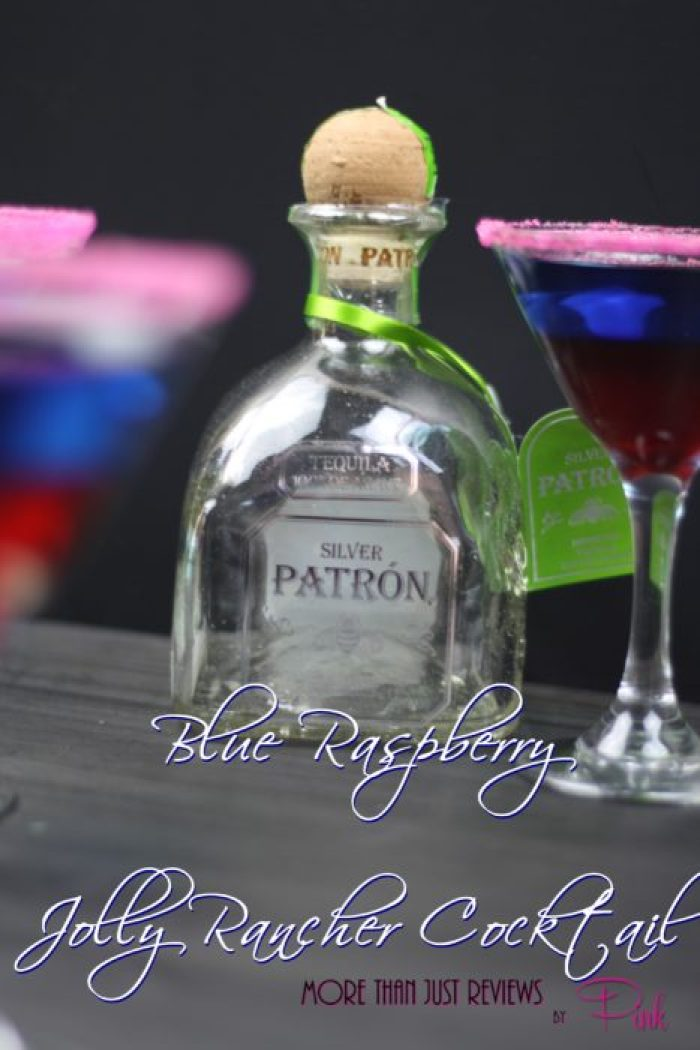 Blue Raspberry Jolly Rancher Cocktail
