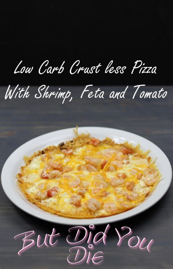 Low Carb Crust less Pizza