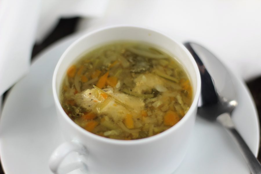 Easy Instant Pot Vegetable Chicken Zoodle Soup