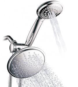 DreamSpa 1432 3-way Rainfall Shower-Head and Handheld Shower-min
