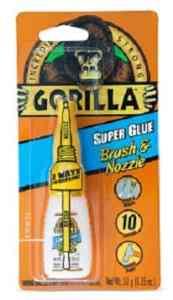 Gorilla 7500101 Super Glue Brush & Nozzle-min