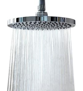 "WantBa 8"" Wide (157 Jets) Rainfall Wall Mount Shower Head with Showerhead"