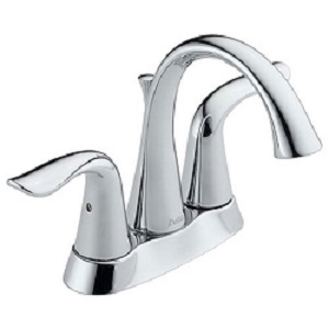 Delta 2538-MPU-DST Lahara Two Handle Bathroom Faucet