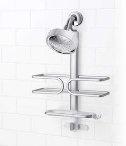 OXO Good Grips Rustproof Compact Aluminum Shower Caddy