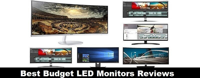 Best Budget LED Monitors 2018 Reviews And Comparison