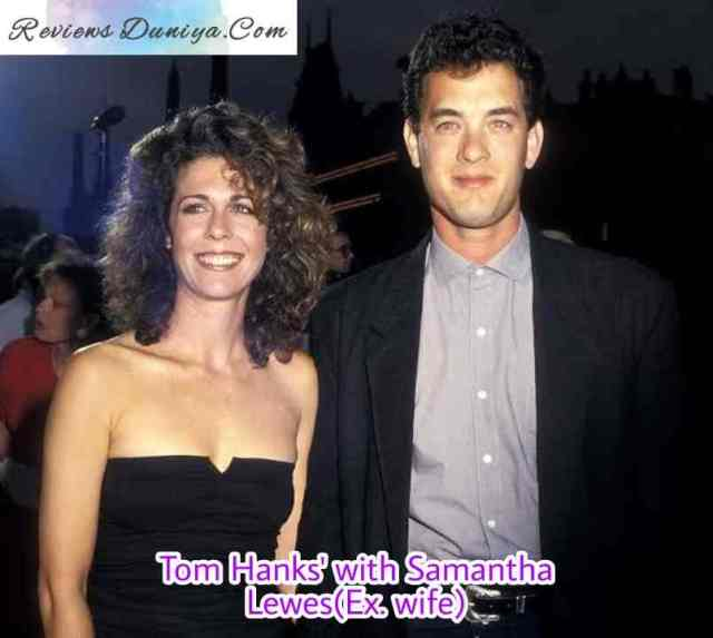 Tom Hanks with Samantha Lewes