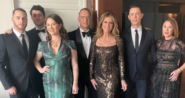 Have You Ever Seen Such a Large and Beautiful Family of Tom Hanks? See the Tom Hanks' Whole Family