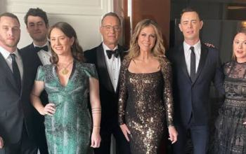 Tom Hanks' Whole Family