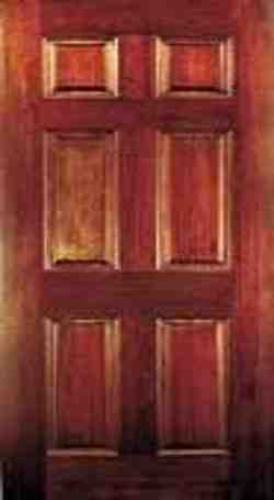 FRAMED AND PANELED DOORS