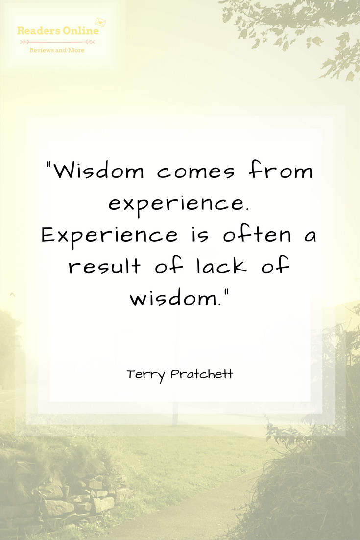 Terry Pratchett Wisdom quote