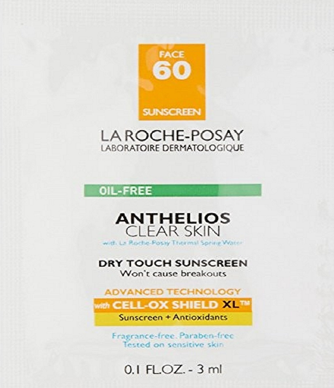 La Roche-Posay Anthelios Clear Skin Face Sunscreen