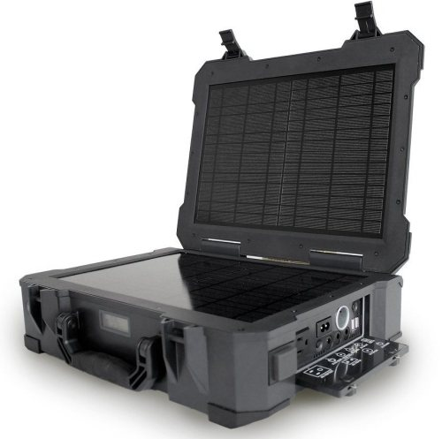 Military Grade Waterproof Hiking Solar Generator