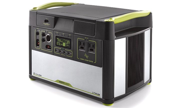 Goal Zero Yeti 1400 Lithium Portable Power Station Review