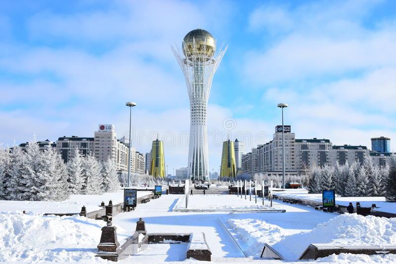 Winter In Kazakhstan