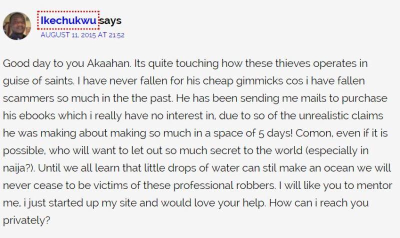 Nigerians Say Ken Ezeani Is A Scammer 4