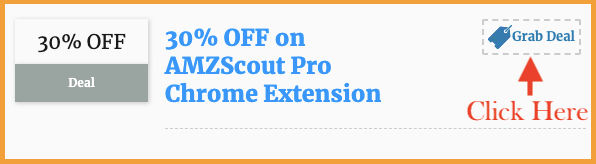 amzscout pro chrome extension  coupon