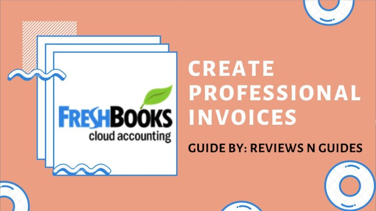 how to create an invoice with freshbooks