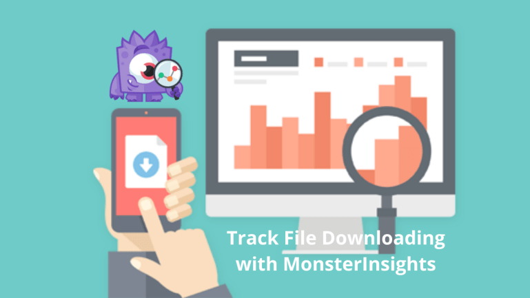 monsterinsights and file tracking
