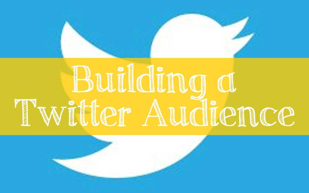 Building a Twitter Audience