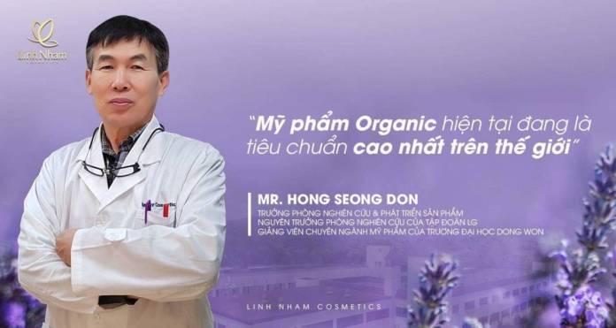 mỹ phẩm organic là tiêu chuẩn cao nhất