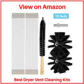 Kit for cleaning dryers