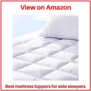 best mattress toppers for heavy side sleepers