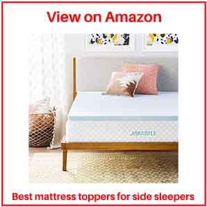 memory foam mattress toppers for side sleepers
