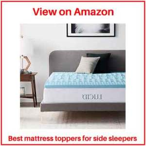Side sleeper mattress topper