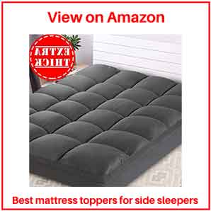 best mattress toppers for side sleepers