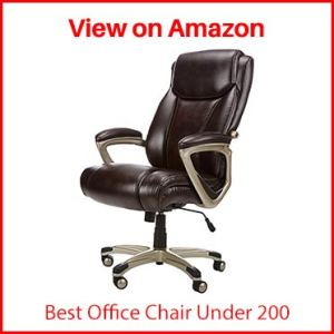 AmazonBasics Big & Tall Executive Computer Desk Chair