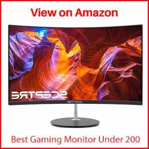 """Sceptre 24"""" Curved LED Full HD 1080P"""