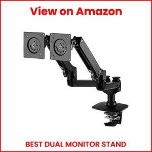 AmazonBasics-Premium-Dual-Monitor-Stand