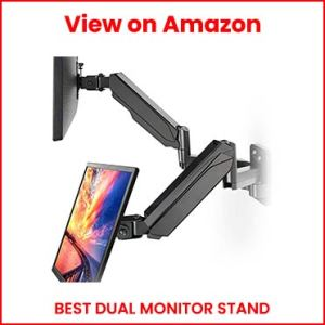 HUANUO-Dual-Monitor-Stand-Wall-Mount