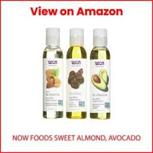 Now-Foods-Sweet-Almond,-Avocado,-and-Jojoba-Oils