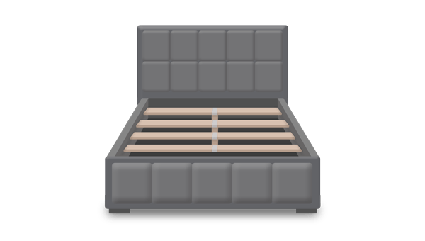 puffy-bed-frame-for-mattress