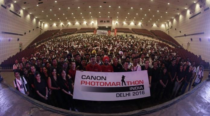 Eddie Udagawa, Canon India, Photomarathon